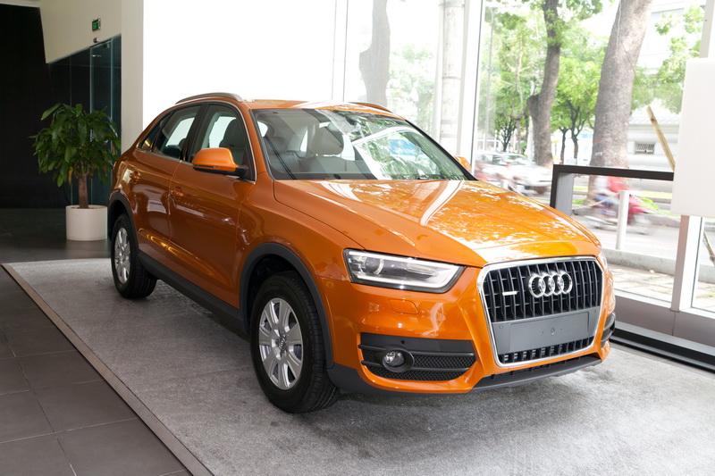 Audi Q3 đã có mặt tại Việt Nam