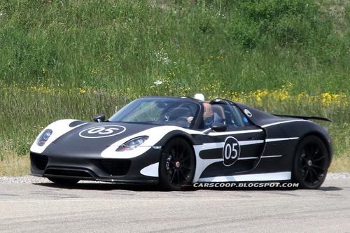 Porsche tiết lộ thông tin chi tiết về 918 Spyder