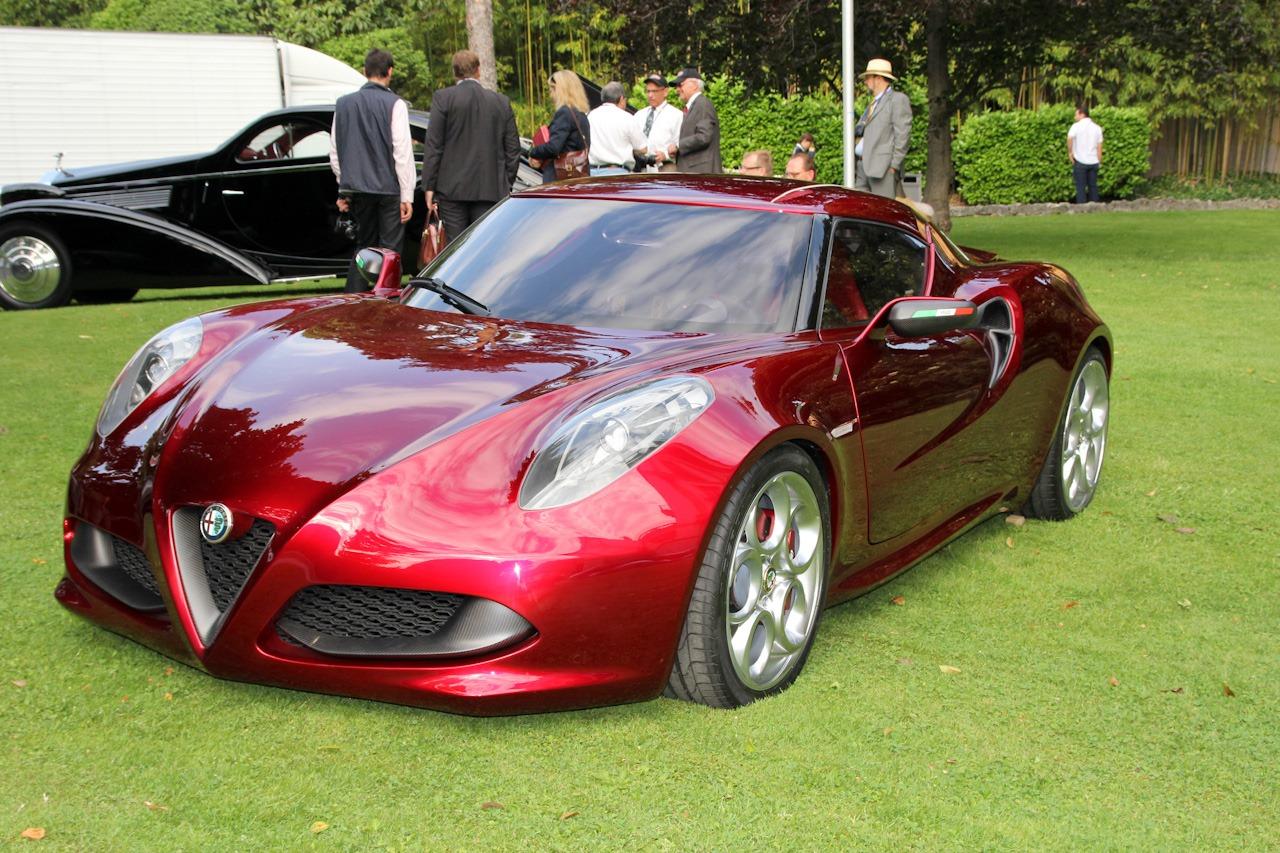 Alfa Romeo 4C được chọn là mẫu Concept đẹp nhất