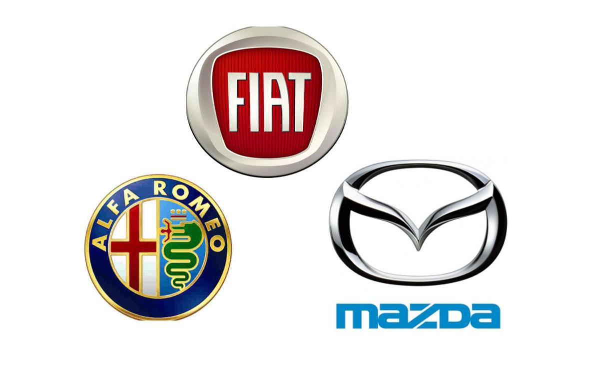 Fiat thỏa thuận để lắp ráp Mazda