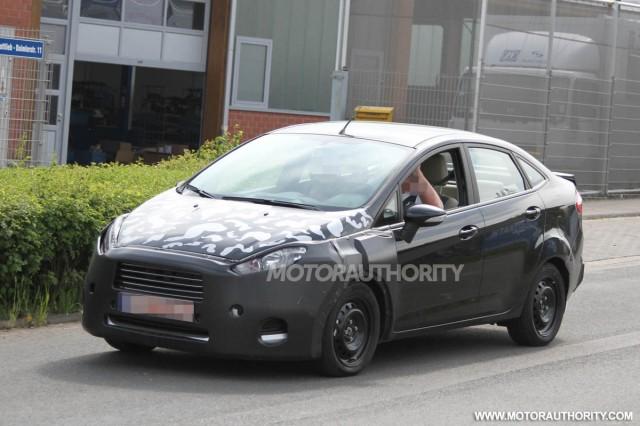 Ford Fiesta 2013 sắp có mặt trên thị trường