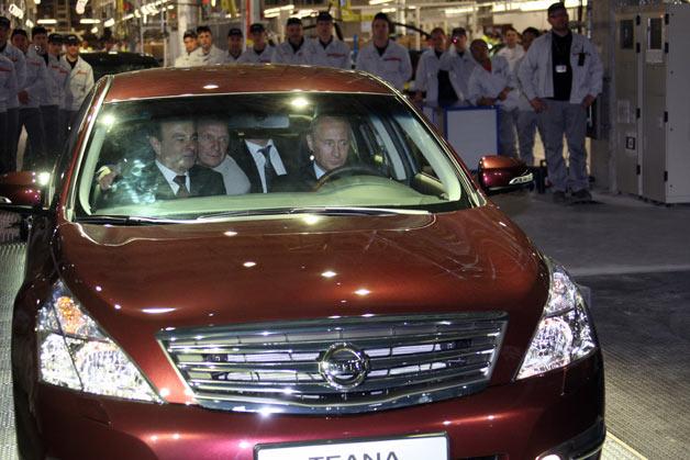 Nissan đẩy mạnh doanh số bán hàng tại Nga