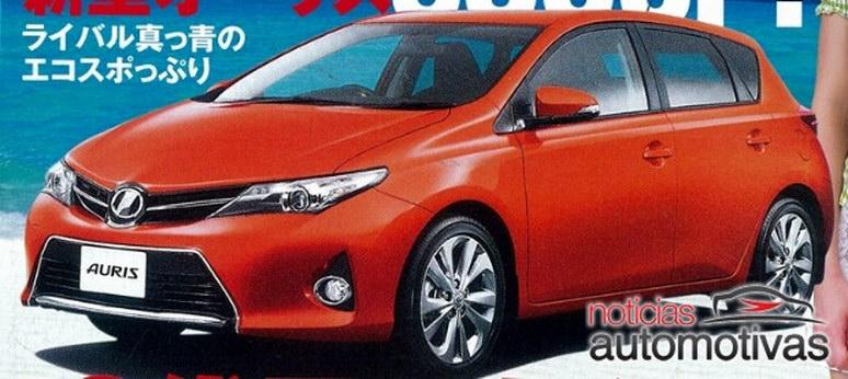 Toyota Auris rò rỉ hình ảnh đầu tiên