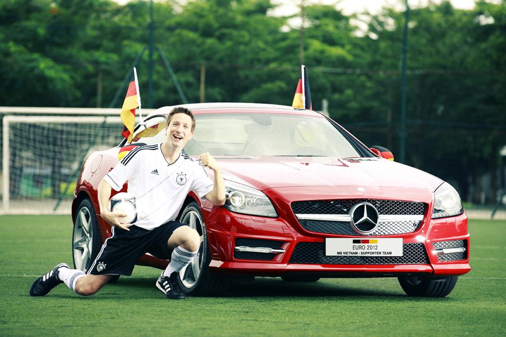 Mercedes ưu đãi lớn cổ động Euro 2012