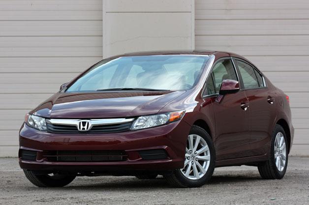 Honda thu hồi 50.000 chiếc Civic 2012