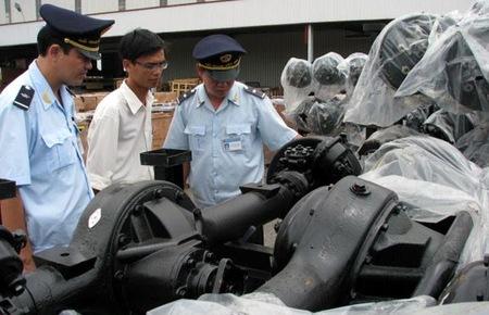 Nhập nhèm nhập khẩu linh kiện ôtô