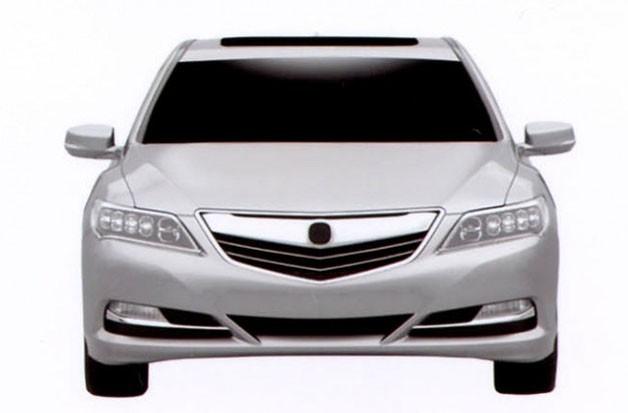 Acura RLX  lộ diện