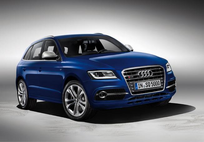 Audi SQ5 đầu tiên được trang bị động cơ diesel