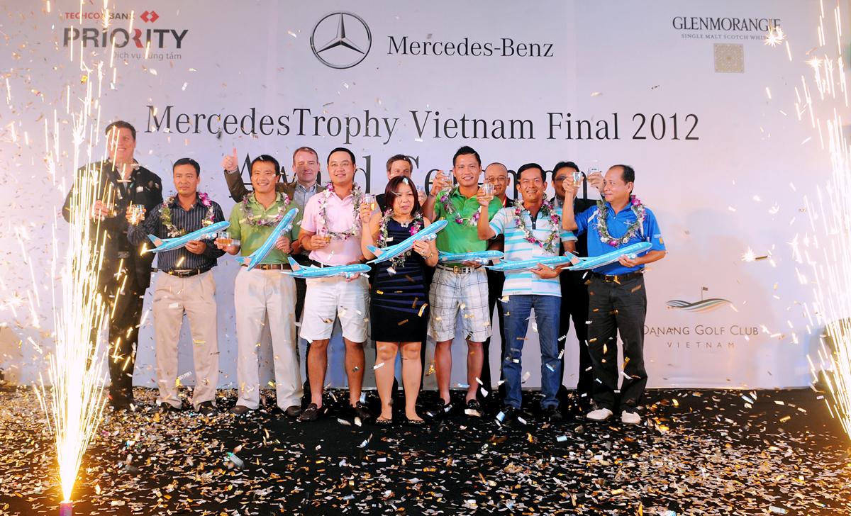 MercedesTrophy sôi động trận Chung kết toàn quốc