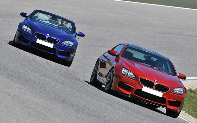 BMW ra mắt M6 Coupé và M6 Convertible tại Goodwood Speed