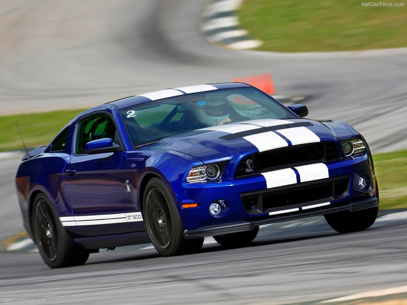 Ford Mustang Shelby GT500 2013 tham dự Goodwood.
