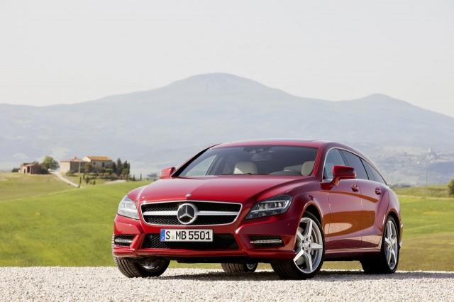 Mercedes CLS Shooting Brake chính thức lộ diện