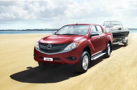 Mazda BT-50 All New 2012 có giá 680 triệu đồng