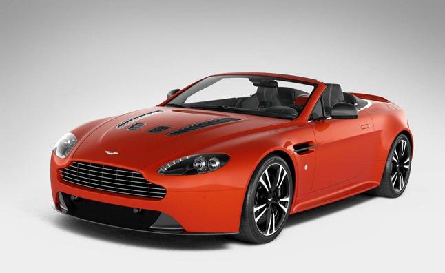 Aston Martin V12 Vantage Roadster rò rỉ hình ảnh