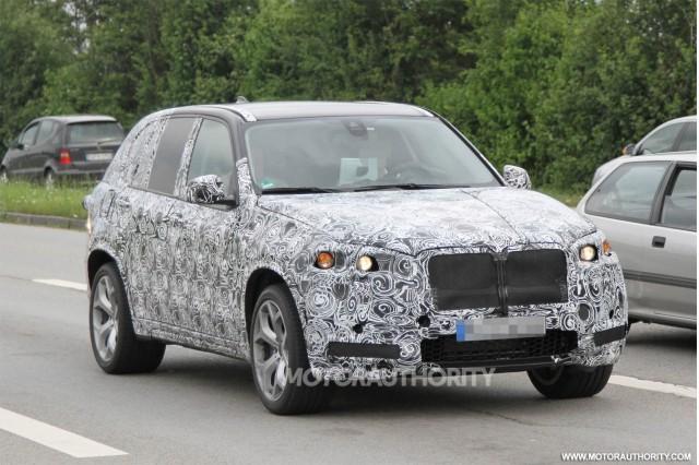 BMW X5 M 2014 bước vào giai đoạn thử nghiệm