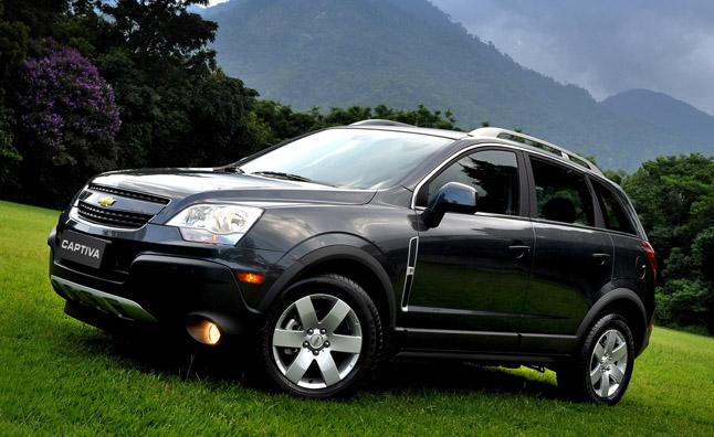 Chevrolet Captiva tiếp tục bị triệu hồi