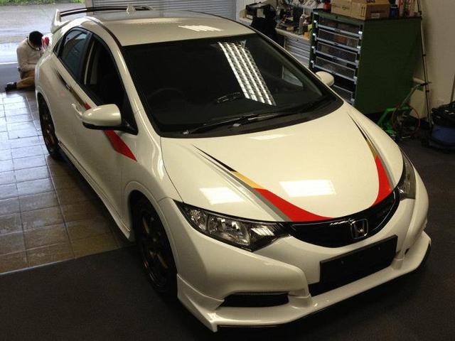 Honda Civic Concept Mugen 2012 trình làng tại Festival of Speed.