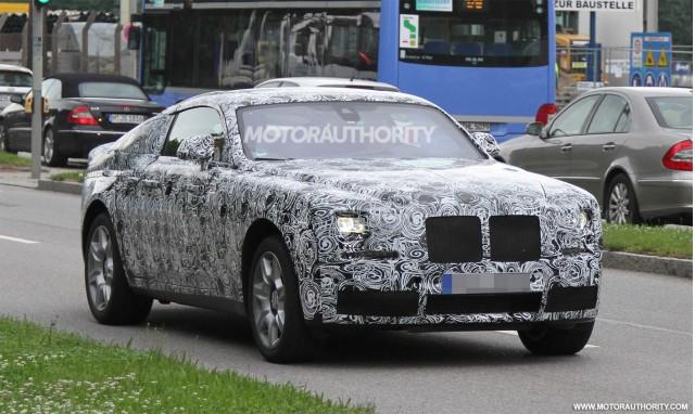 Rolls-Royce Ghost sẽ có thêm bản Coupe