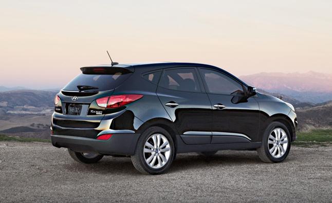 Hyundai Tucson 2013 tăng giá nhẹ