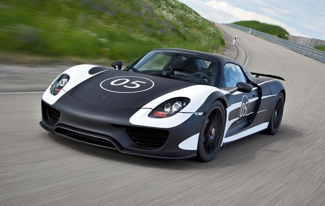 Porsche 918 Spyder sẽ có thêm gói nâng cấp