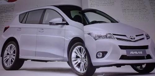 Xem trước Toyota RAV4 thế hệ mới