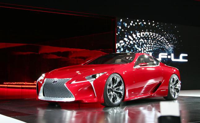 Lexus lên kế hoạch sản xuất LF-LC