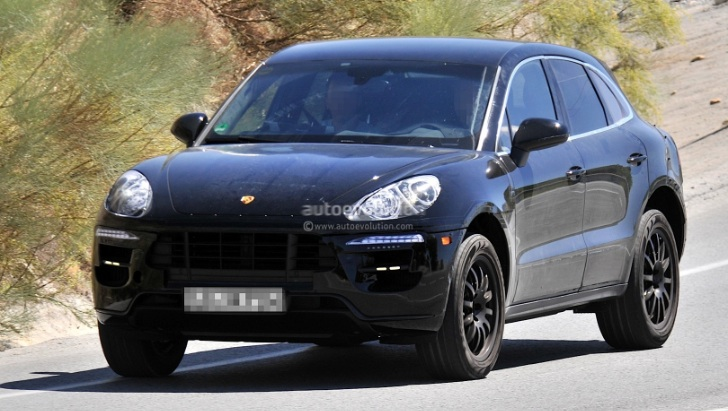 Porsche Macan 2014 tiếp tục chạy thử nghiệm