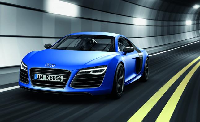 Audi ra mắt R8 Plus 2013