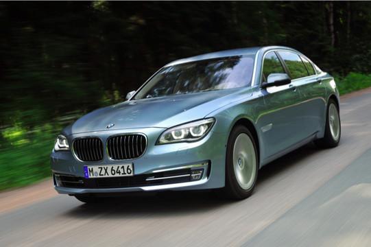 BMW công bố giá bán dòng 7 series