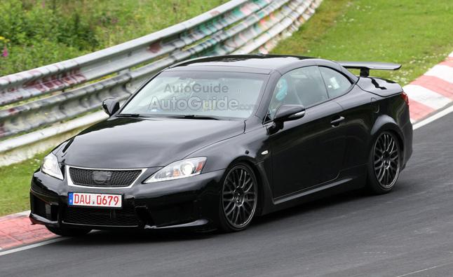 Lexus IS thế hệ mới chạy thử nghiệm