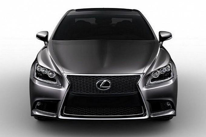 Lexus LS 2013 rò rỉ hình ảnh trước giờ G