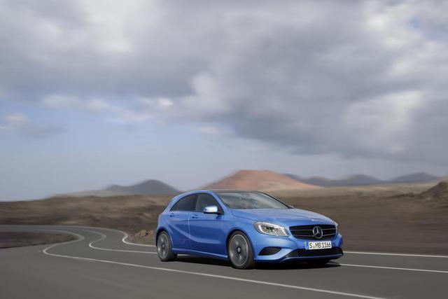 Mercedes A-Class sẽ tới Mỹ vào năm 2014
