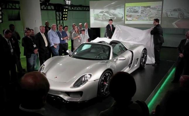 Porsche 918 Spyder lộ hình ảnh thực tế