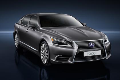 Tiết lộ mới về Lexus LS 2013