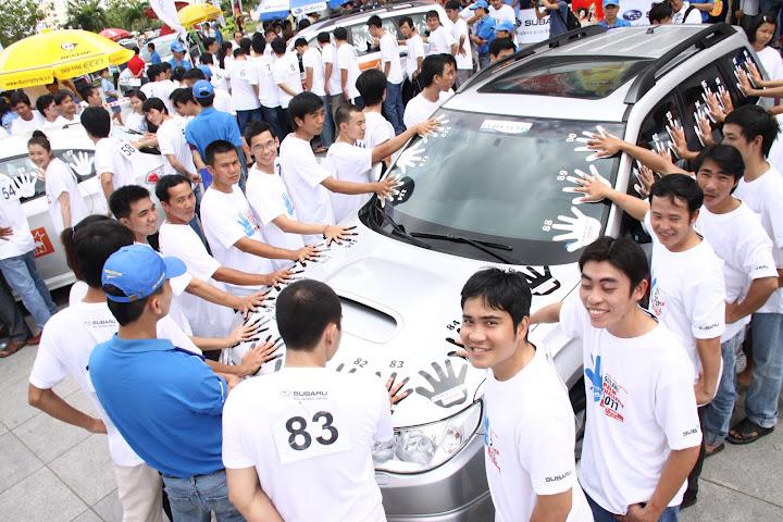 Thử thách vì từ thiện cùng Subaru