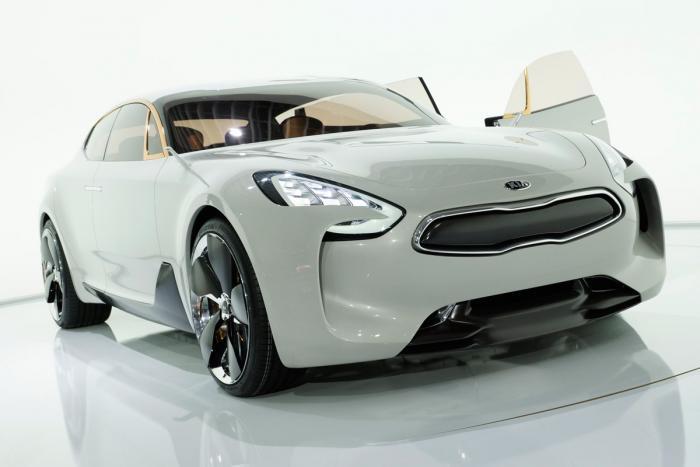 GT Concept – xe sang mới của Kia