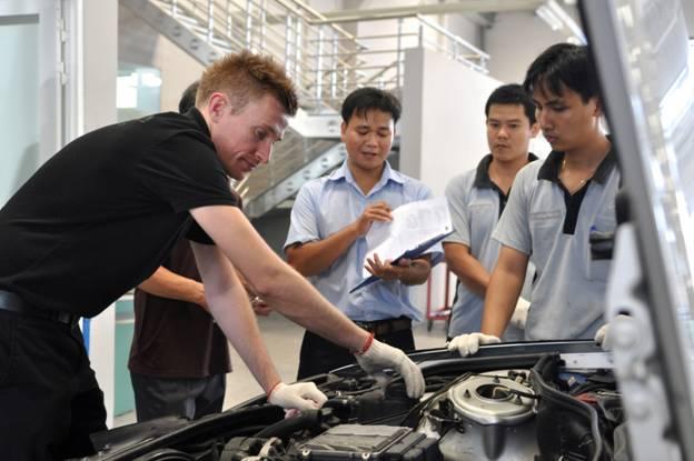 Mercedes-Benz An Du kiểm tra miễn phí hệ thống an toàn