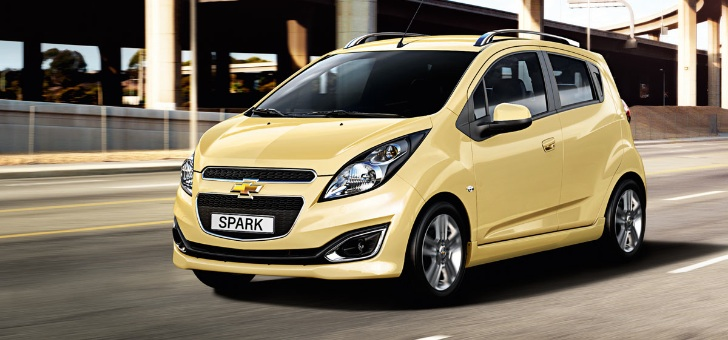 Chevrolet Spark ra mắt tại Paris Motor Show 2012