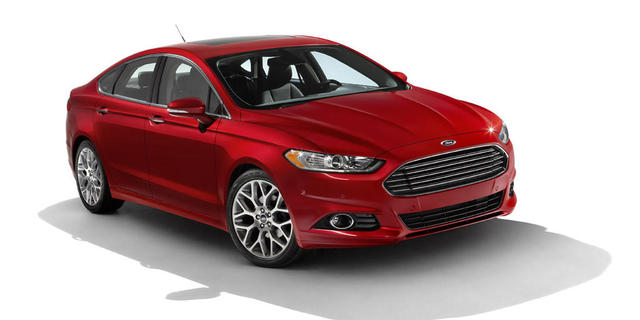 Ford Fusion 2013 – chiếc Hybrid đầy hấp dẫn