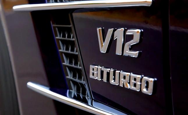 Mercedes phát triển động cơ V12 AMG
