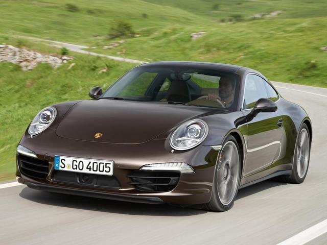 "Porsche 911 Carrera 4 và Carrera 4S lộ ảnh ""nóng"""