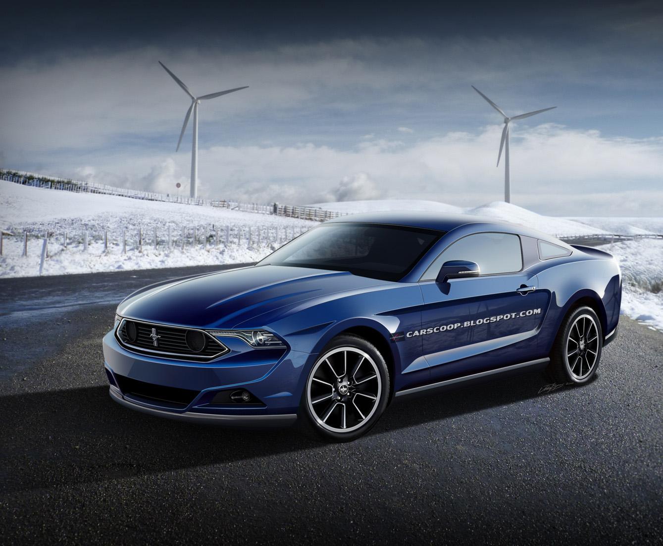 Ford Mustang đến châu Âu