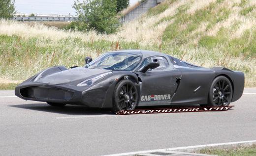 Cận cảnh siêu xe Ferrari F70