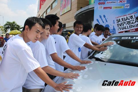 Cùng Subaru thử thách vì từ thiện