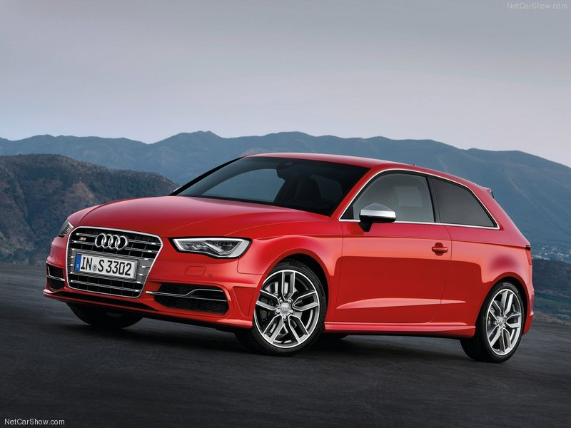 Audi S3 mạnh tới 300 mã lực