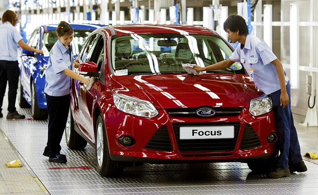 Năm 2012 – sự bùng nổ của ngành công nghiệp ôtô toàn cầu