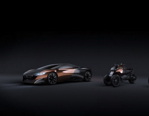 Peugeot mang cặp siêu xe Onyx tới Paris Show 2012