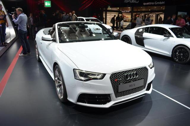 Audi RS5 Cabriolet chính thức ra mắt