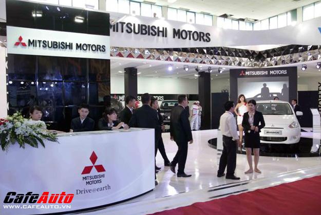 Gian hàng Mitsubishi