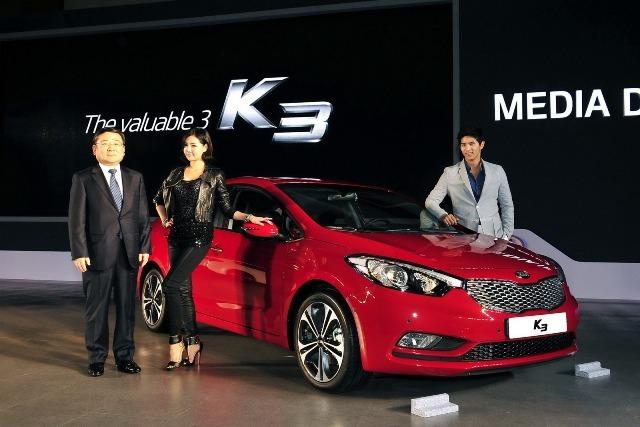 Kia K3 phiên bản 2014 chính thức trình làng